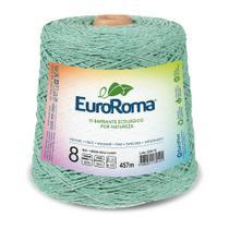 Barbante Colorido nº8 c/ 600g EuroRoma - Verde Água - Eurofios