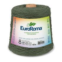 Barbante Colorido nº8 c/ 600g EuroRoma - Verde Militar - Eurofios