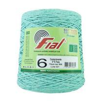 Barbante Crochê Fial Colorido 700g - N. 6 - 43 - Verde Claro - Barbantes Fial -