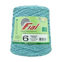 Barbante Crochê Fial Colorido 700g - N. 6 - 53 - Azul Claro - Barbantes Fial