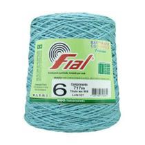 Barbante Crochê Fial Colorido 700g - N. 6 - 53 - Azul Claro - Barbantes Fial -