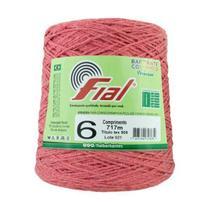 Barbante Crochê Fial Colorido 700g - N. 6 - 73 - Goiaba -