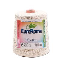 Barbante Crú nº6 c/ 600g - EuroRoma - Eurofios