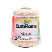 Barbante Crú nº8 c/ 600g - EuroRoma - Eurofios