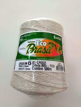 BARBANTE ECO BRASIL COLORIDO N 6 700g 580m - COR 1 CAQUI - Soberano