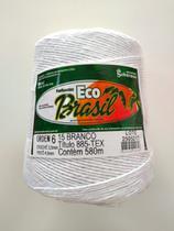 BARBANTE ECO BRASIL COLORIDO N 6 700g 580m - COR 15 BRANCO - Soberano