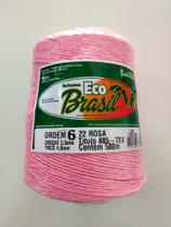 BARBANTE ECO BRASIL COLORIDO N 6 700g 580m - COR 22 ROSA - Soberano