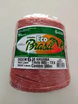 BARBANTE ECO BRASIL COLORIDO N 6 700g 580m - COR 38 HAVANA - Soberano