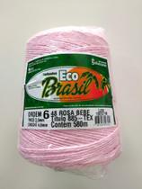 BARBANTE ECO BRASIL COLORIDO N 6 700g 580m - COR 48 ROSA BEBE - Soberano