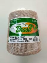 BARBANTE ECO BRASIL COLORIDO N 8 700g 470m - COR 36 BEGE - Soberano