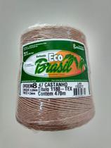 BARBANTE ECO BRASIL COLORIDO N 8 700g 470m - COR 47 CASTANHO - Soberano