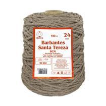 Barbante Ecológico Santa Tereza BCM Spesso Colorido 24 Fios - 009 - Marrom Claro - Barbantes Santa Tereza