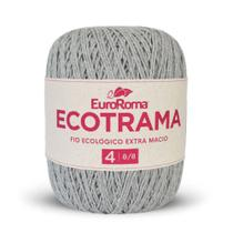 Barbante Ecotrama 8/8 200g 340m Cinza 270 Euroroma -