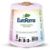 Barbante Euroroma 600G 4/8 Fios 457M Branco -