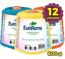 Barbante Euroroma 600g - Nº 6 - Kit 12 Unidades - Eurofios