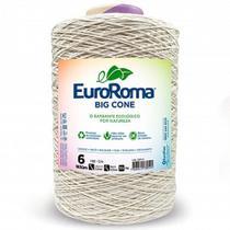 Barbante EuroRoma Big Cone Crú 4/6 1,8kg -