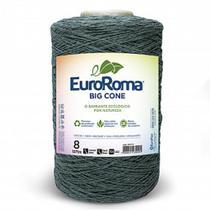 Barbante Euroroma Bigcone fio 8 cor 805 - Verde Militar - Eurofios