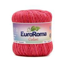 Barbante EuroRoma Colori nº4 200g - Cereja - Eurofios