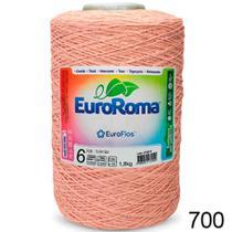 Barbante EuroRoma Colorido 1.8kg - N 6 - Cor: 700 - Salmão -