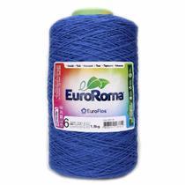 Barbante Euroroma Colorido 1,8Kg N6  Azul Royal -