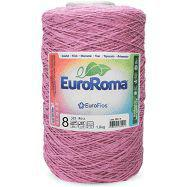 Barbante Euroroma Colorido 1,8Kg N8 Eurofios 3 UNIDADES ROSA -