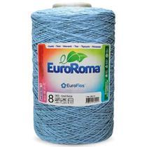 Barbante Euroroma Colorido 1,8Kg N8 Eurofios azul bebe -