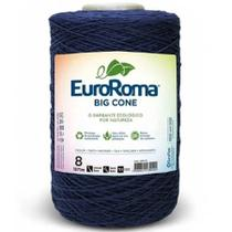Barbante Euroroma Colorido 1,8Kg N8 Eurofios Azul Marinho -