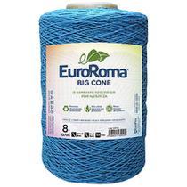 Barbante Euroroma Colorido 1,8Kg N8 Eurofios Azul Piscina -
