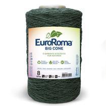 Barbante Euroroma Colorido 1,8Kg N8 Eurofios cor Verde Musgo -