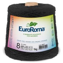 Barbante euroroma colorido 1kg 4/8 - pp - Eurofios