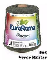 Barbante Euroroma Colorido 600g N6 Cor variadas -