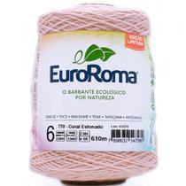 Barbante EuroRoma Colorido Edição Limitada nº06 600g - Eurofios