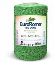 Barbante Euroroma Colorido N6 - 1,8Kg Verde Limâo -