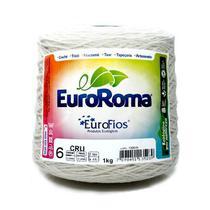 Barbante Euroroma Crú 1kg n06 - Eurofios