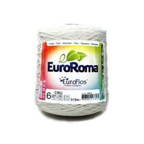 Barbante Euroroma Crú n06 600g - Eurofios -