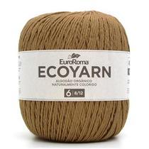 Barbante EuroRoma Ecoyarn nº06 422g - Algodão Naturalmente Colorido - Eurofios