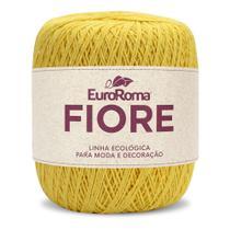 Barbante EuroRoma Fiore 8/4 150g - Ouro - Eurofios