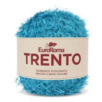 Barbante EuroRoma Trento 200g - Azul Piscina - Eurofios