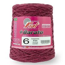 Barbante Fial +Barato Colorido 500g N06 -