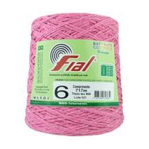 Barbante Fial Colorido 700g - N. 6 - 71 - Rosa -