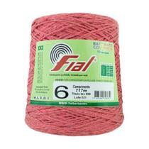 Barbante Fial Colorido 700g - N. 6 - 73 Goiaba -