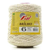 Barbante Fial Colorido com Brilho nº 6 - 614 Metros -