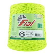 Barbante Fial Colorido N06 Fluorescente -