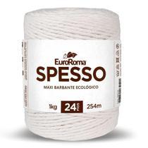 Barbante Spesso 4/24 1Kg 254m Cru 100 Euroroma -