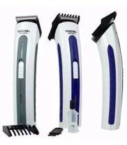 Barbeador Aparador E Cortador Cabelo E Barba Recarregável - Nova