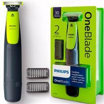 3f9c205e9 Barbeador Aparador Oneblade Philips QP2510/10 Aprova Dágua Bivolt