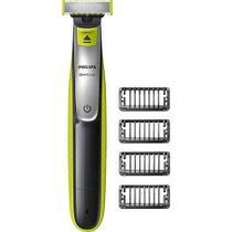 Barbeador elétrico Philips Oneblade QP2530/10 4 pentes Seco Molhado Bivolt -