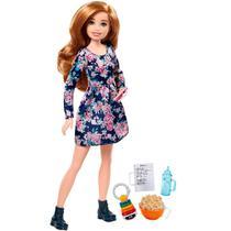 Barbie Babá Loira - Mattel -