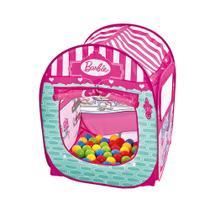 Barbie Barraca Infantil com 50 Bolinhas - Fun Divirta-se -
