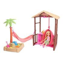 Barbie Barraca Praia Chelsea Fwv24 Mattel -